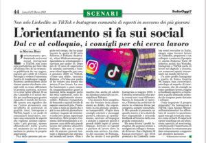Articolo Italia Oggi